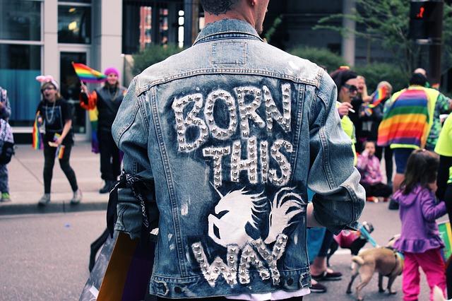 Zdobená džínsová bunda